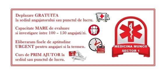 Medicina Muncii Sector 1