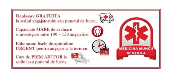 Medicina Muncii Sector 4
