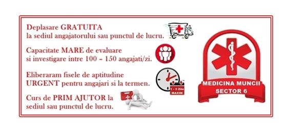 Medicina Muncii Sector 6