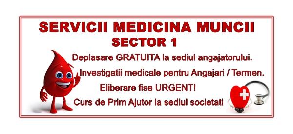 Servicii Medicina Muncii Sector 1